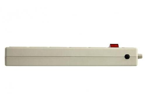 Сетевой фильтр SVEN Optima Base, 5 розеток, 3 м, серый, вид 3