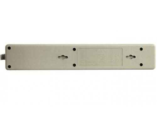Сетевой фильтр SVEN Optima Base, 5 розеток, 3 м, серый, вид 5