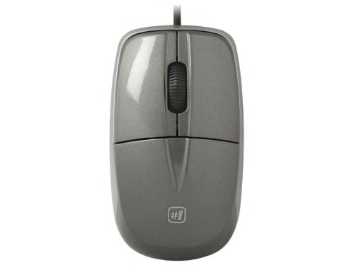 Мышка Defender MS-940, серая, вид 1