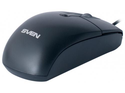 Мышка Sven RX-160 USB, черная, вид 1