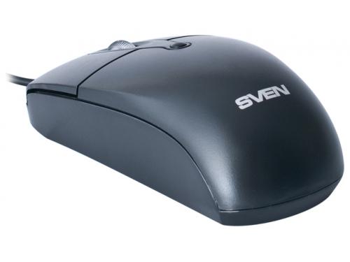 Мышка Sven RX-160 USB, черная, вид 2