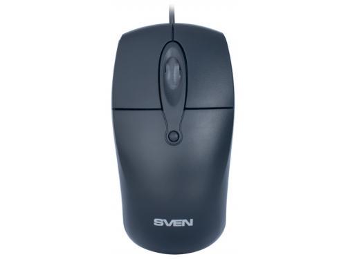 Мышка Sven RX-160 USB, черная, вид 3