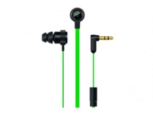 Наушники Razer Hammerhead V2 черный / зелёный, вид 2