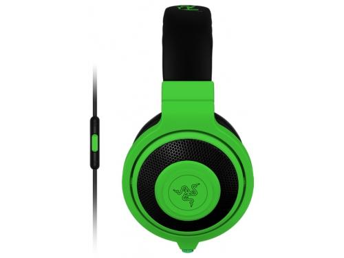 Наушники Razer Kraken Mobile, неоново зеленая, вид 1