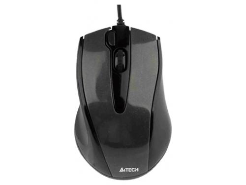 Мышка A4Tech N-500F, черная, вид 1