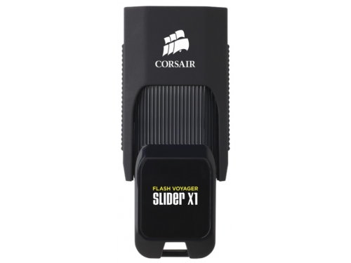 Usb-флешка Corsair 32Gb Voyager Slider X1 CMFSL3X1-32GB USB3.0 черный, вид 1