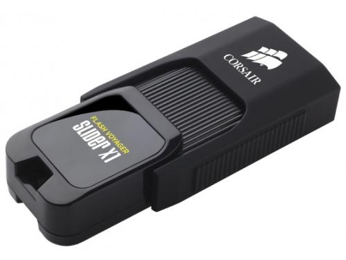 Usb-флешка Corsair 32Gb Voyager Slider X1 CMFSL3X1-32GB USB3.0 черный, вид 3