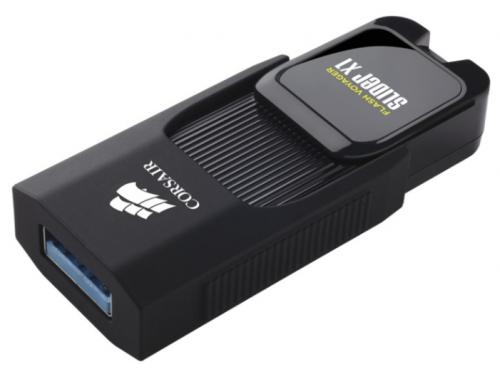 Usb-флешка Corsair 32Gb Voyager Slider X1 CMFSL3X1-32GB USB3.0 черный, вид 5