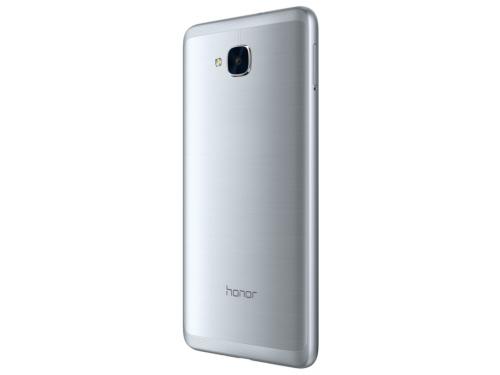 Смартфон Huawei Honor 5С (NEM-L51), серебристый, вид 2