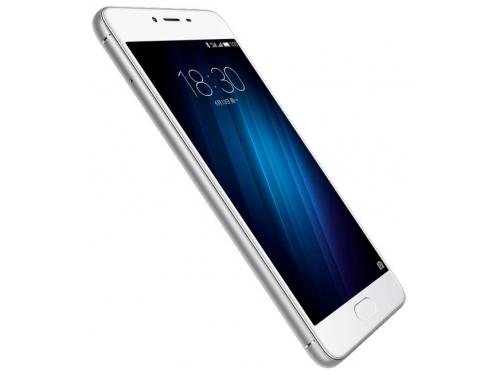 Смартфон Meizu M3s 16Gb, серебристый, вид 2
