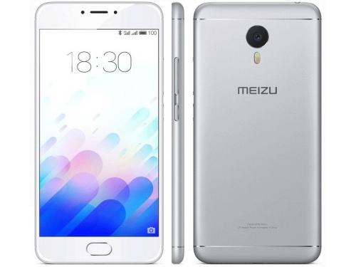 Смартфон Meizu M3s 16Gb, серебристый, вид 4