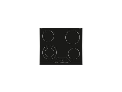 Варочная поверхность Vestel VHE 60 SLDT, чёрная, вид 1