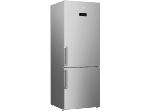 Холодильник Beko RCNK321E21S, серебристый, вид 1