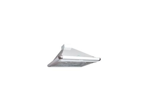Вытяжка ELIKOR Сатурн 50 белый / нержавейка, каминная, вид 1