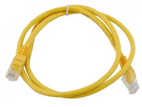 Кабель (шнур) Aopen UTP кат. 5е, Yellow, вид 1