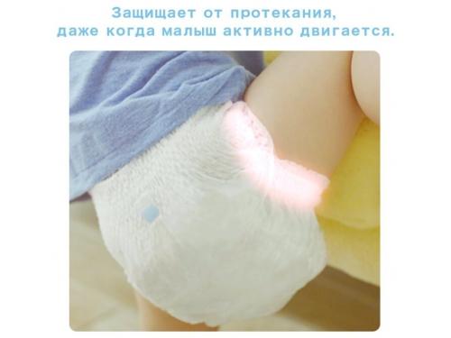 Подгузник MOONY для девочек 9-14 кг (44 шт.) L, трусики, вид 6