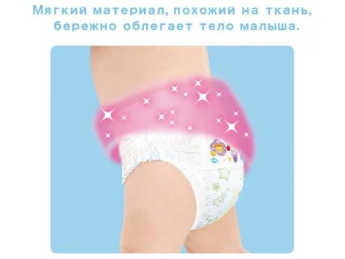 Подгузник MOONY для девочек 9-14 кг (44 шт.) L, трусики, вид 7