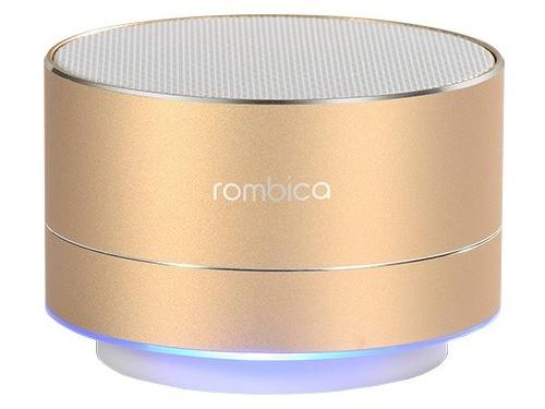 Портативная акустика Rombica mysound BT-03 4C, золотистая, вид 1