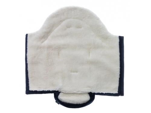 Конверт для новорожденного Nuovita Siberia Bianco , темно-синий, вид 3