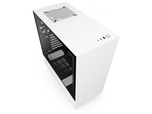 Корпус компьютерный NZXT H510 CA-H510B-W1, белый, вид 2