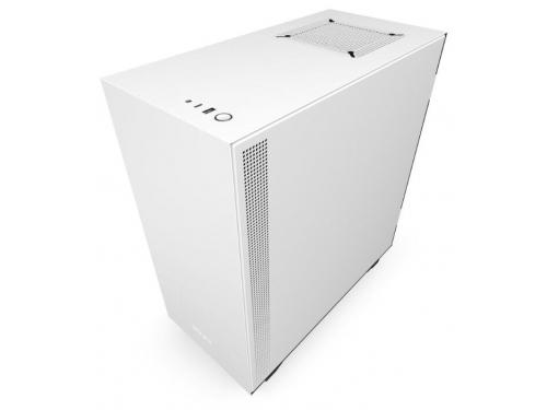 Корпус компьютерный NZXT H510 CA-H510B-W1, белый, вид 3