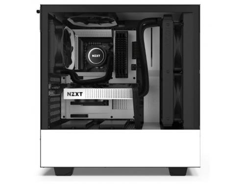 Корпус компьютерный NZXT H510 CA-H510B-W1, белый, вид 5