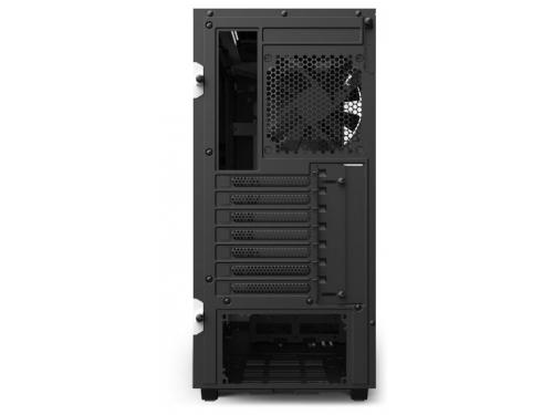 Корпус компьютерный NZXT H510 CA-H510B-W1, белый, вид 6