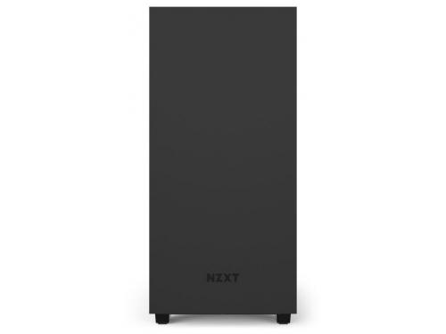 Корпус компьютерный NZXT H510 CA-H510B-B1, черный, вид 1