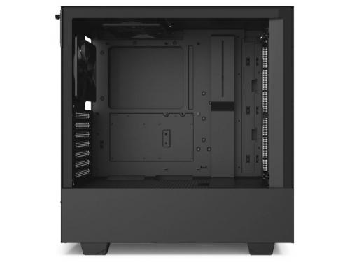 Корпус компьютерный NZXT H510 CA-H510B-B1, черный, вид 5
