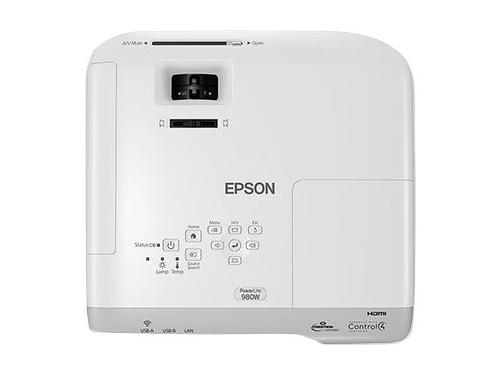 Мультимедиа-проектор Epson EB-980W (V11H866040), вид 5