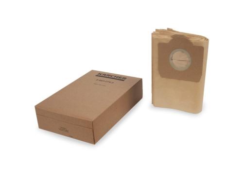 Мешок-пылесборник для пылесоса мешки Karcher 2.863-276.0 (для WD 3, 5 штук), вид 1