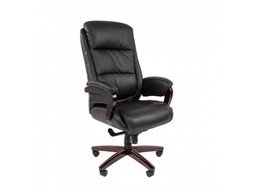 Кресло офисное Chairman 404, черный (7023227), вид 1