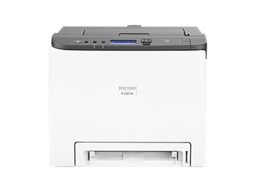 Принтер лазерный цветной Ricoh P C301W лазерный, вид 1