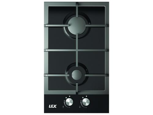 Варочная поверхность Lex GVG 320 BL, черная, вид 1