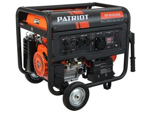 Электрогенератор Генератор PATRIOT GP 9510ALE бензиновый, вид 1