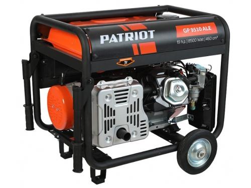 Электрогенератор Генератор PATRIOT GP 9510ALE бензиновый, вид 2