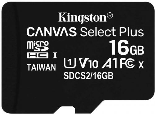 Карта памяти Kingston SDCS2/16GBSP 16Gb, Class 10 UHS-I, вид 1