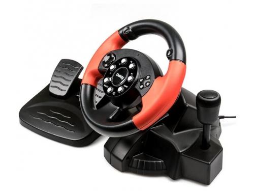 Руль игровой Dialog GW-225VR E-Racer Vibration USB, вид 1