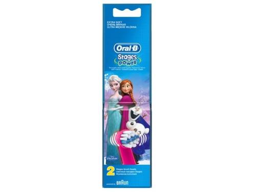 Набор зубных щеток Насадка Oral-B Kids Stages Power Frozen, вид 3
