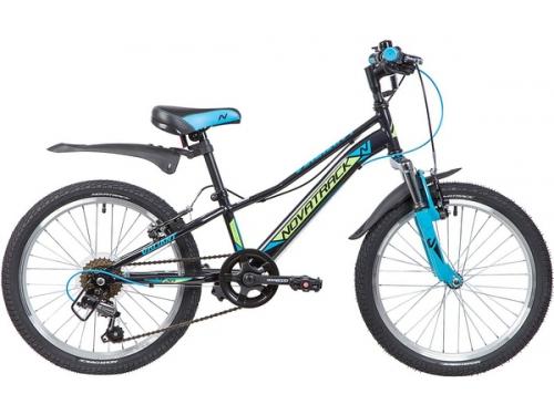 Велосипед Novatrack Valiant 20 20SH6V.VALIANT.BK9, черный, вид 1