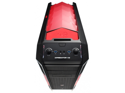 Корпус AeroCool XPredator X3 Devil Red Black, вид 3