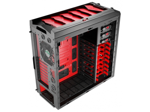 Корпус AeroCool XPredator X3 Devil Red Black, вид 5