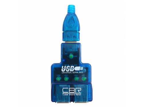 USB-концентратор CH-125 Blue, вид 3