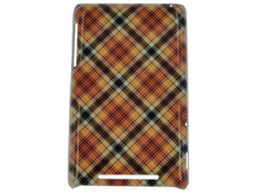 ����� ��� ��������� ������ E-cell BEIGE PINK PLAID PATTERN HARD BACK CASE COVER, ��� 1