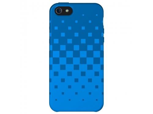 Чехол iphone XtremeMac Tuffwrap for Iphone 5  (IPP-TWN-23) Blue, вид 1