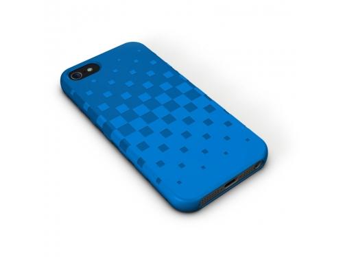 Чехол iphone XtremeMac Tuffwrap for Iphone 5  (IPP-TWN-23) Blue, вид 2
