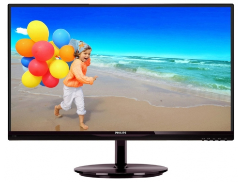 Монитор Philips 234E5QHSB(W) Black-Cherry, вид 1