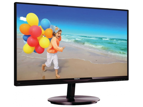 Монитор Philips 234E5QHSB(W) Black-Cherry, вид 2