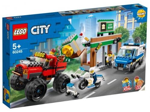 Конструктор LEGO City Ограбление полицейского монстр-трака 60245 (362 дет.), вид 1