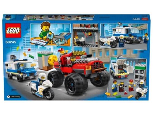 Конструктор LEGO City Ограбление полицейского монстр-трака 60245 (362 дет.), вид 2